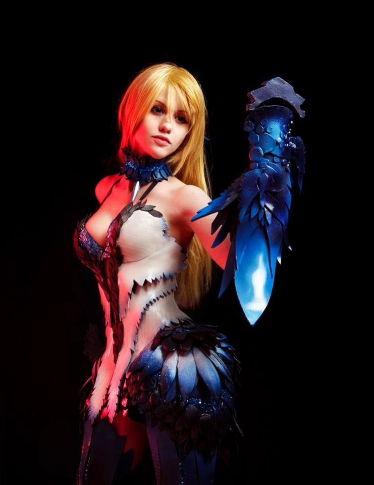 Blade and Soul Kung Fu Master cosplay