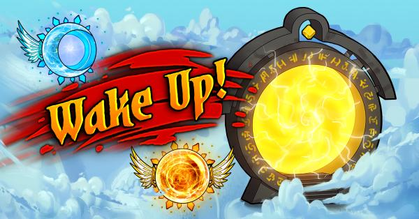 forge of gods wake up update