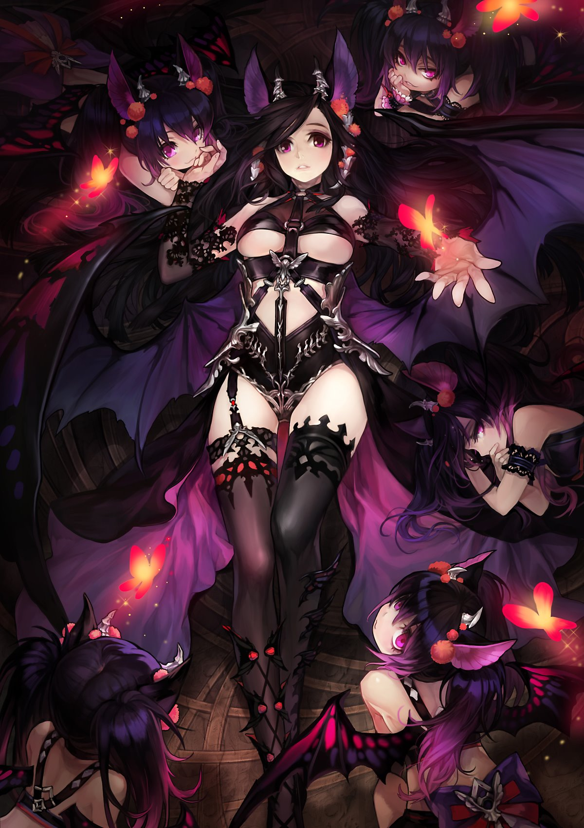 Mabinogi Succubus Queen Cosplay