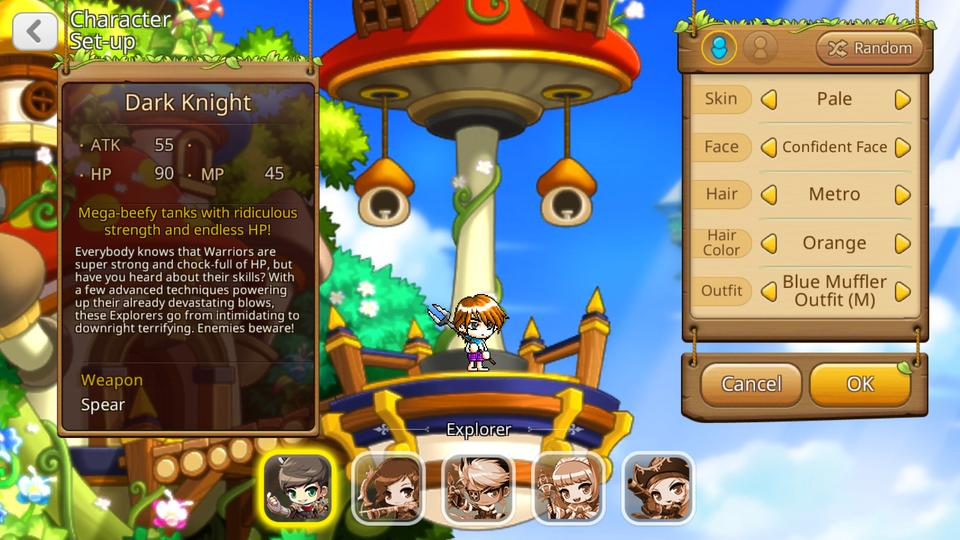 MapleStory M beta