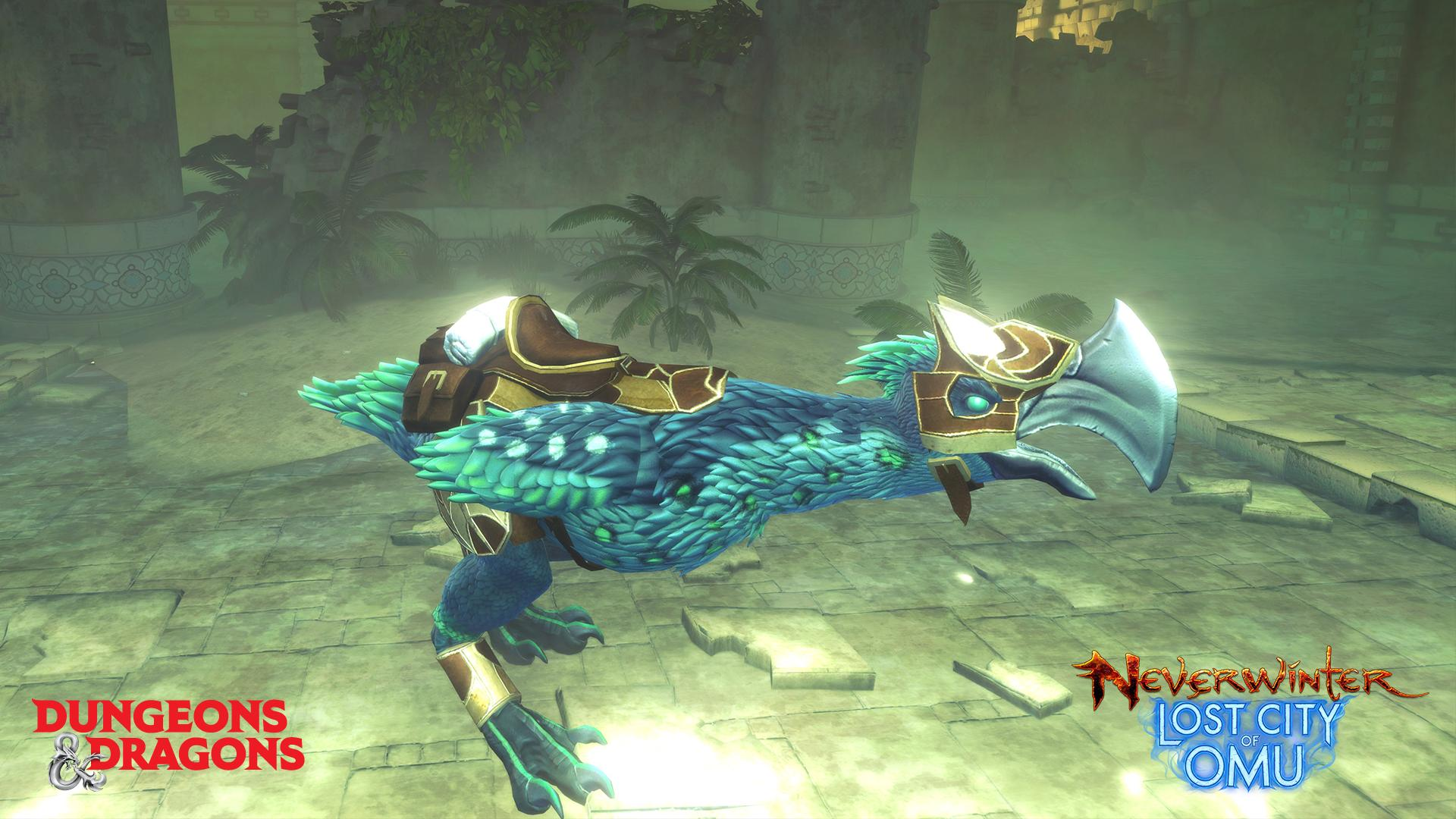Neverwinter Free Teal Axebeak Mount Giveaway