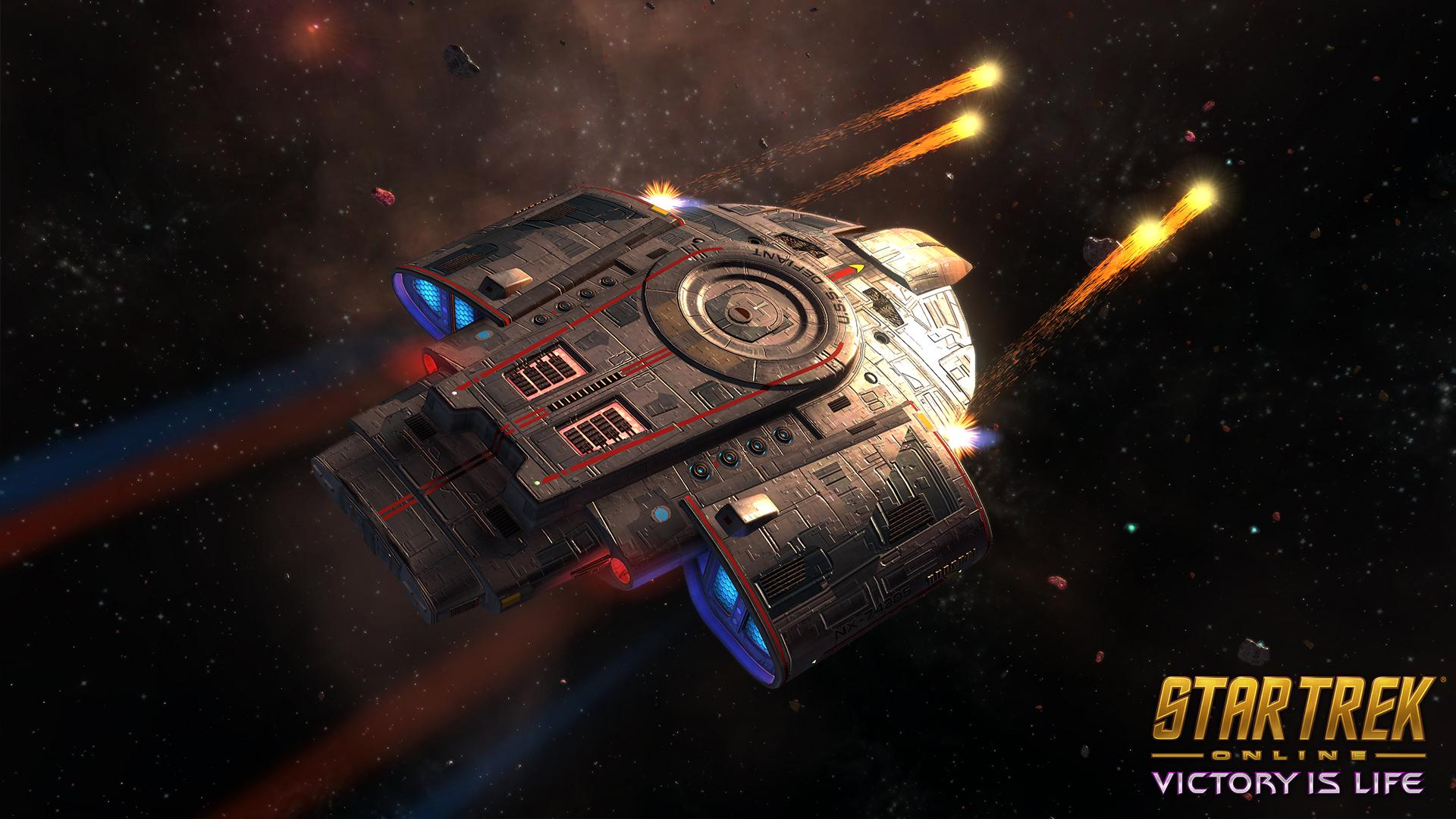 Star Trek Online Free T5 Defiant Tactical Escort Retrofit Giveaway