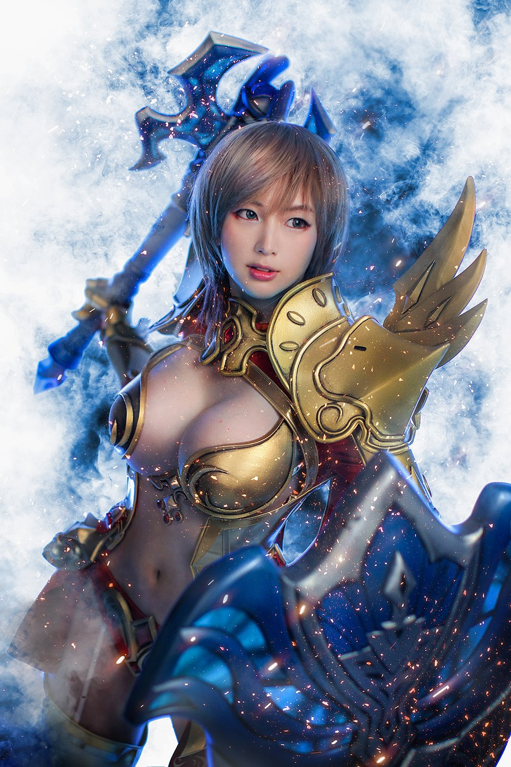 Echo of Soul Spiral Cats cosplay