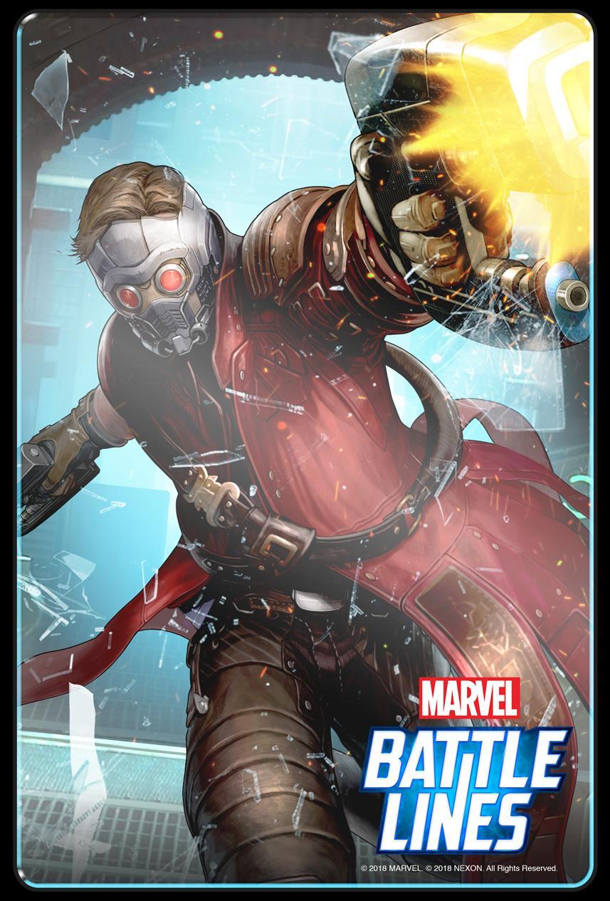 Marvel Battle Lines free card game