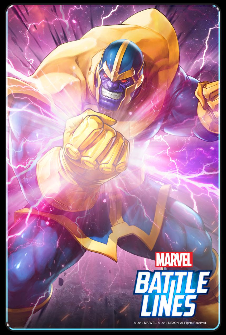 Marvel Battle Lines free card game