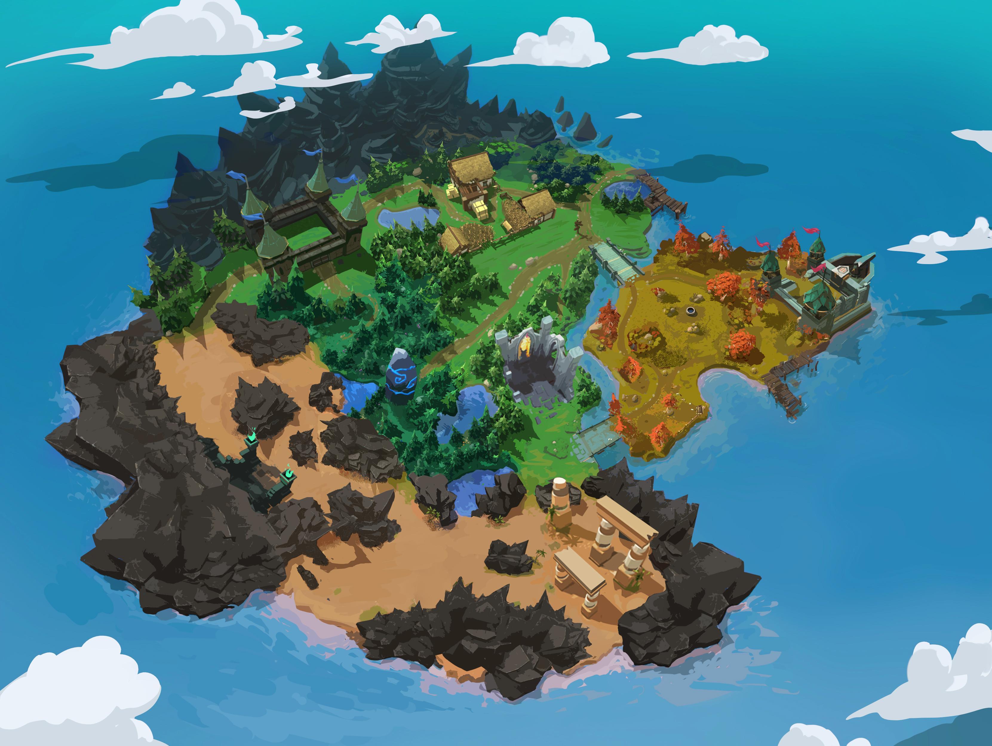 battlerite royale island map