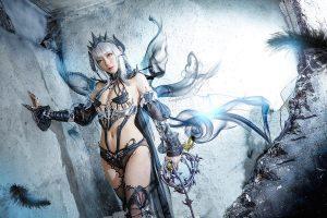 vindictus Arisha death lady cosplay
