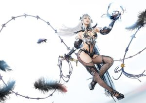 vindictus Arisha death lady cosplay
