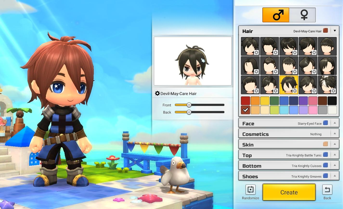 MapleStory 2 Founder's Pack name reservation