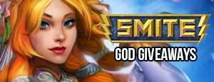 SMITE God and Skins Giveaways