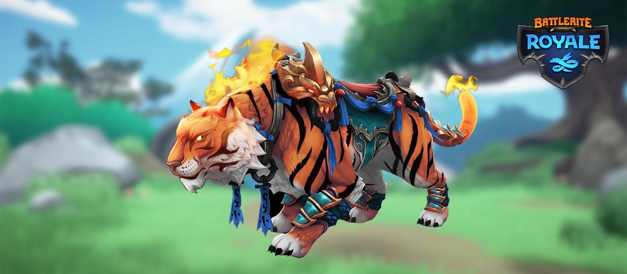 Battlerite Royale Early Access tiger mount