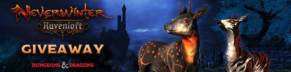 Neverwinter Free Suratuk's Banded Fawn Mount Giveaway