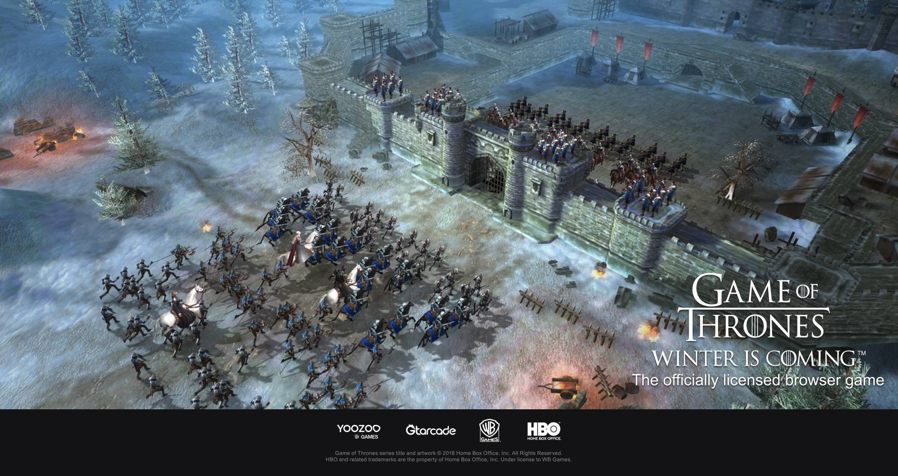 Game Of Thrones Winter Is Coming Browsergame