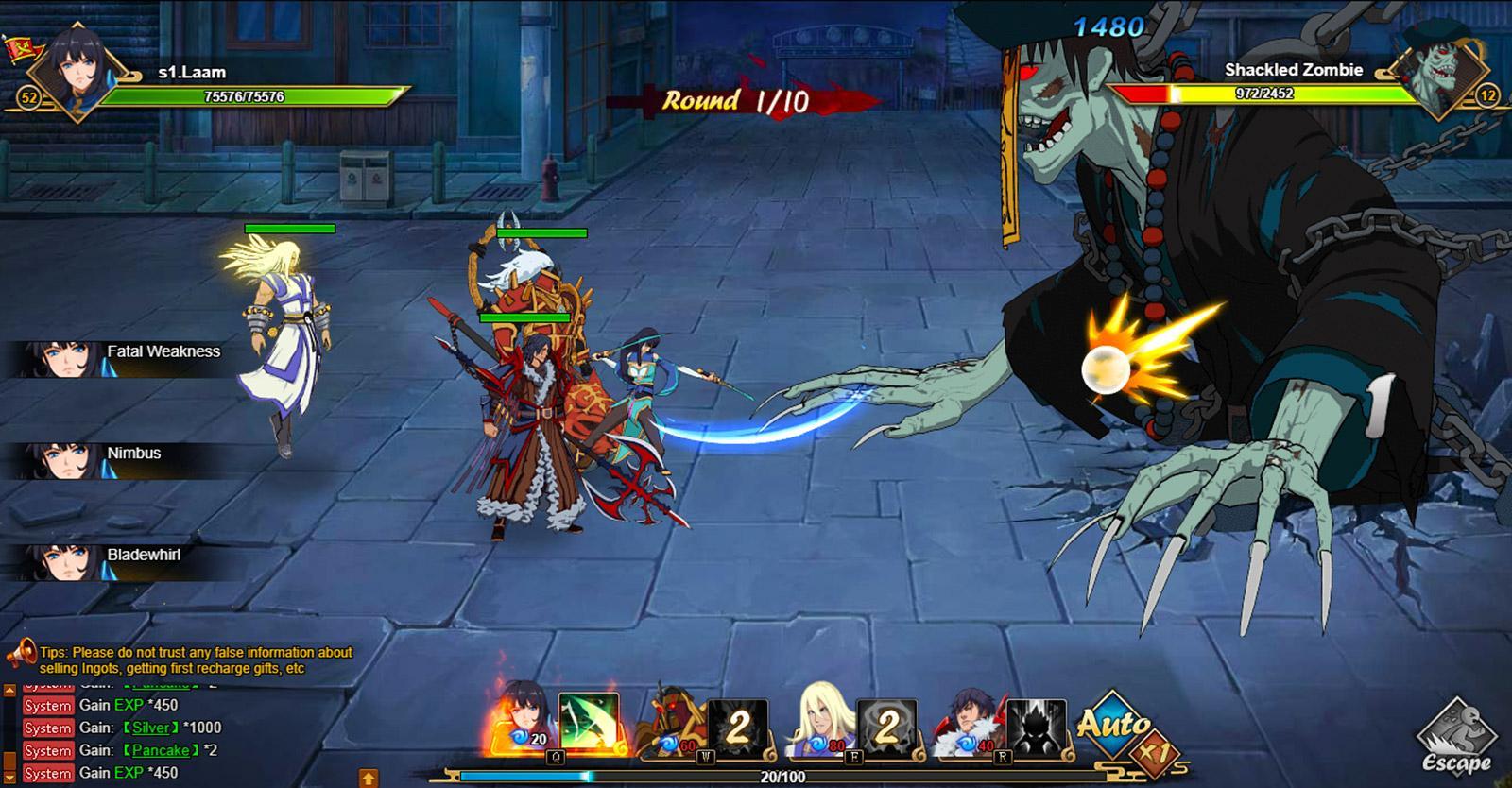 Rakshasa Street of Demons free anime mmorpg