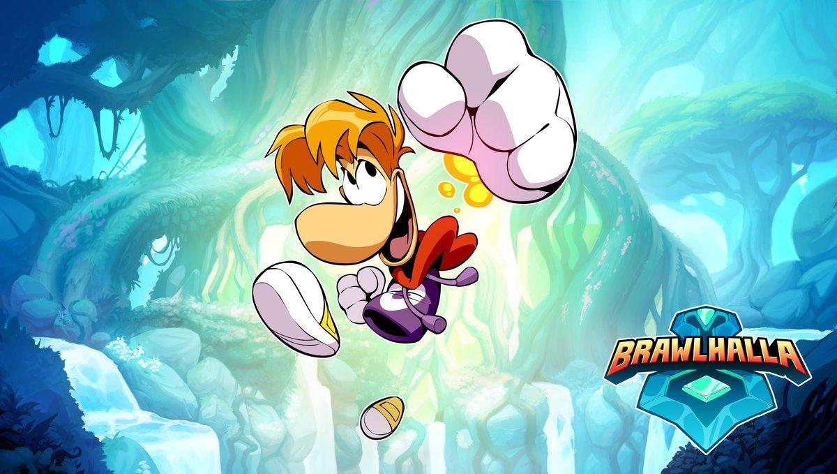 Ubisoft Rayman fighter Brawlhalla