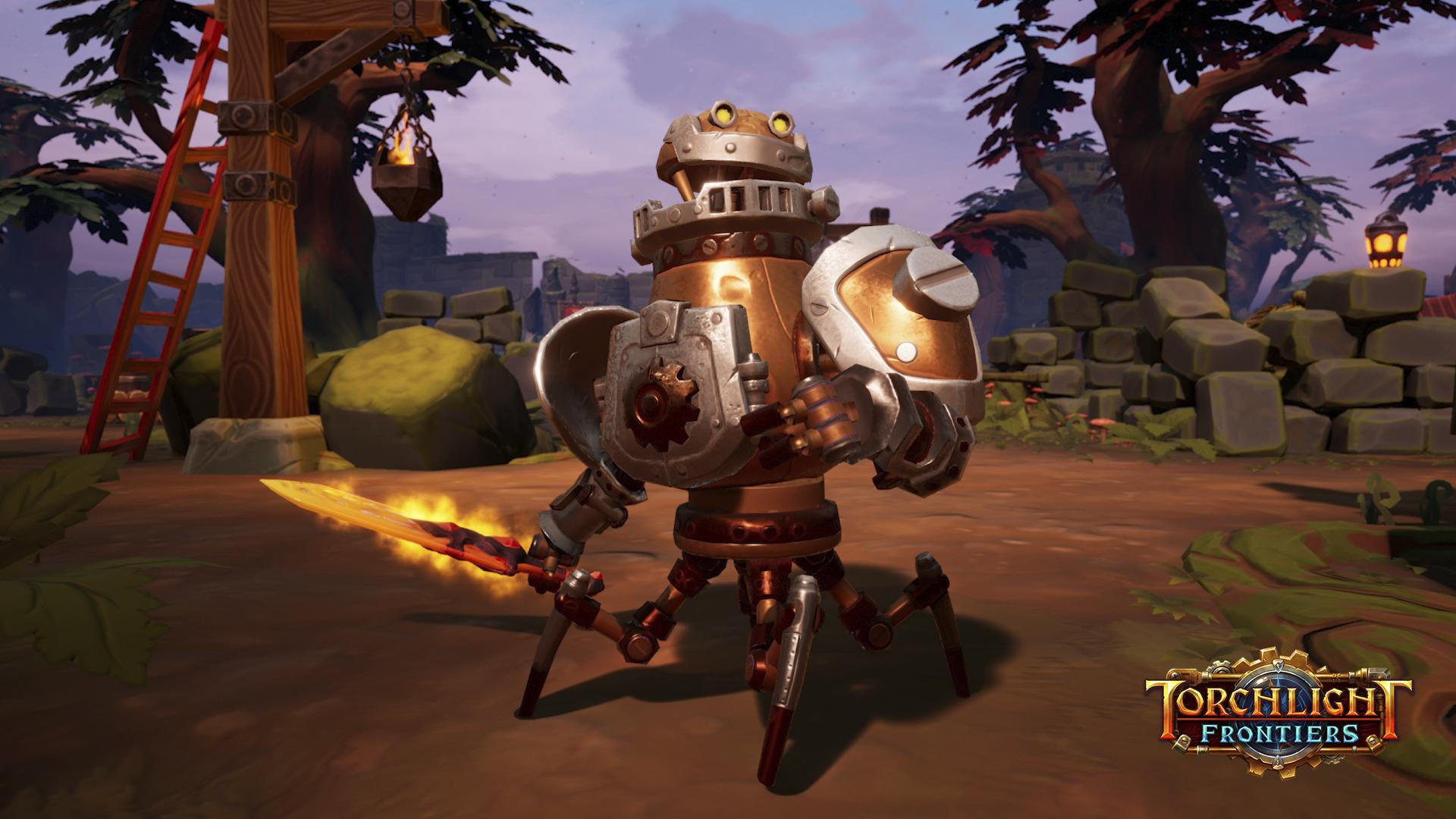 Torchlight Frontiers Relic Weapons