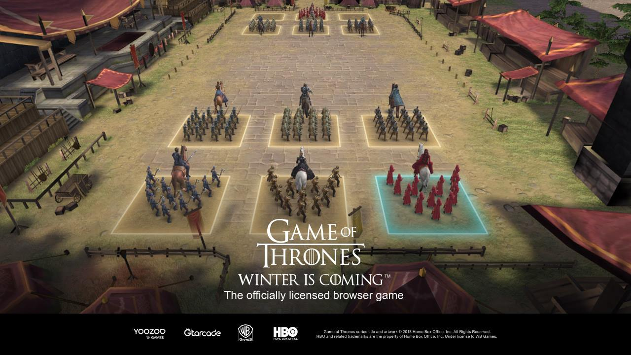 Game of Thrones: Winter is Coming shows its battlefield