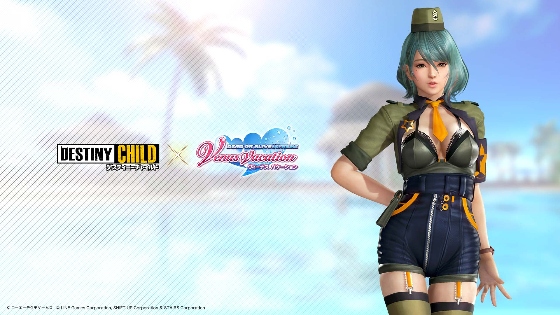 Dead or Alive Xtreme Venus Vacation crossover Destiny Child