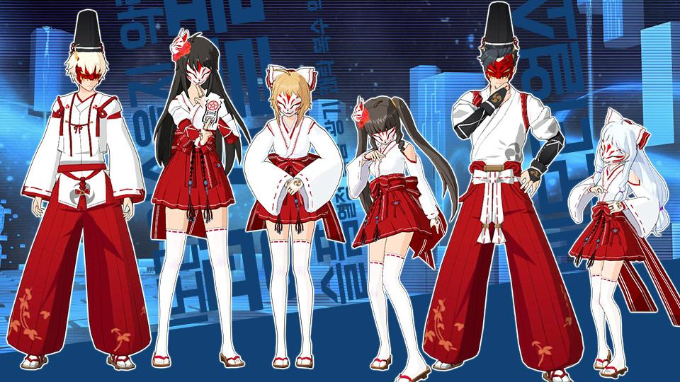 SoulWorker Halloween event Yin Yang costume