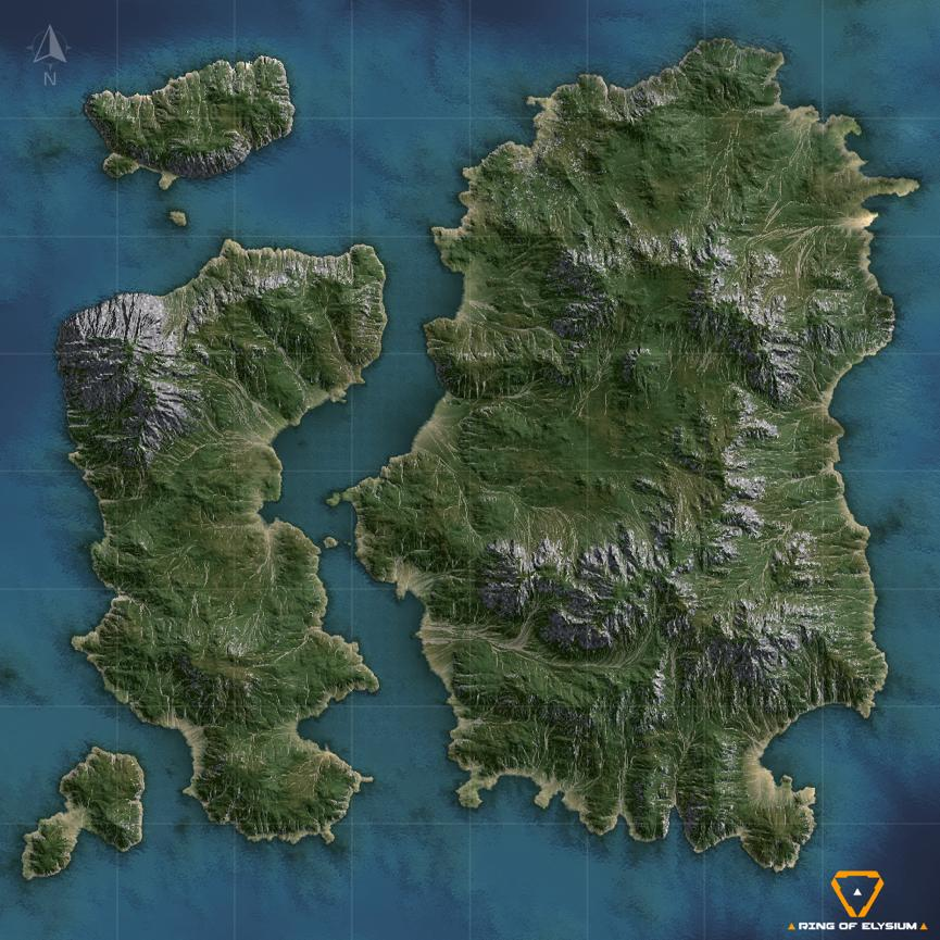 Ring of Elysium update tropical island map