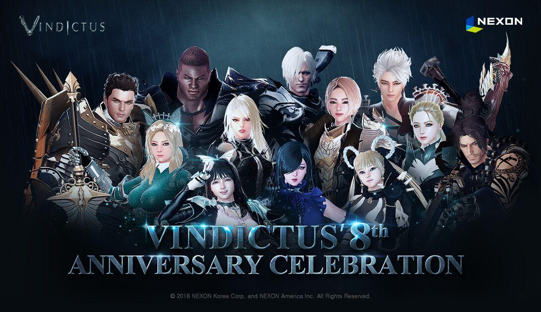 vindictus 8th anniversary celebration