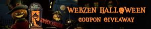 Webzen Free Halloween Coupon Giveaway