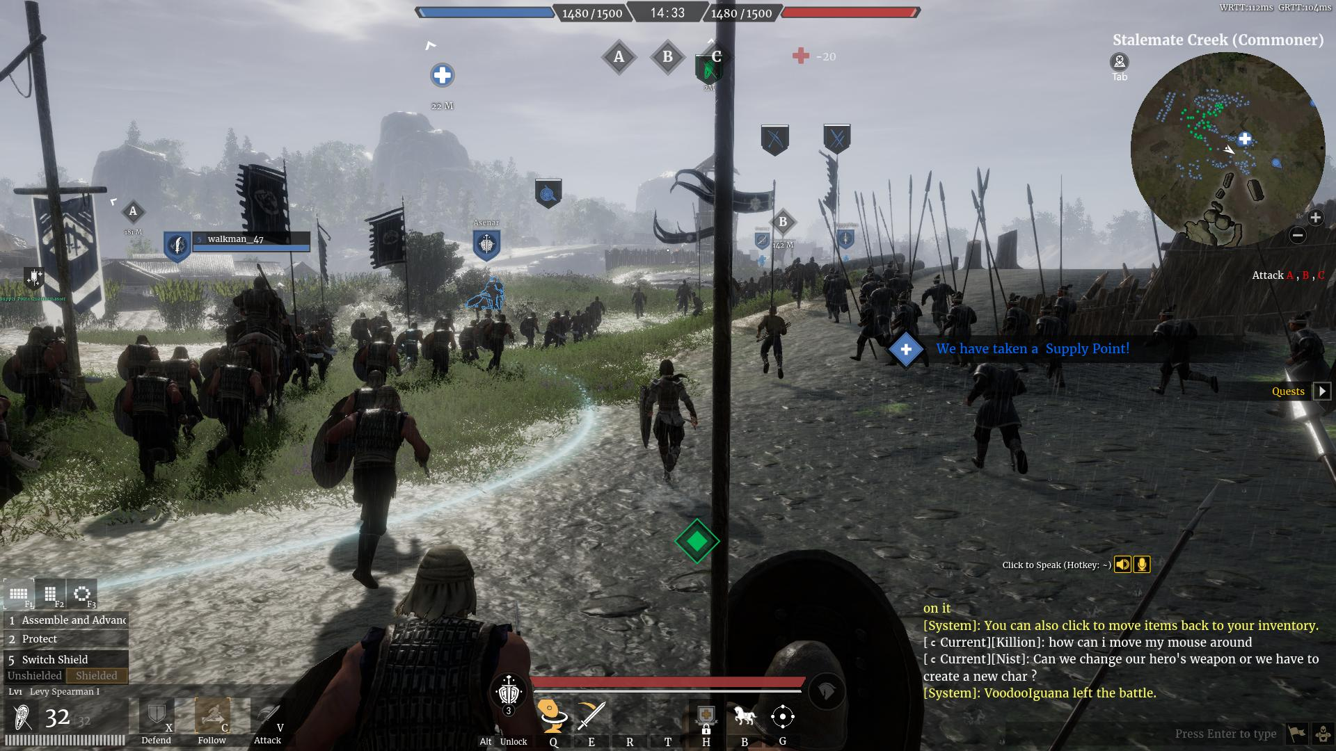 Conqueror's Blade Siege Test Hands-On Preview - Capture the Flag Field Battle