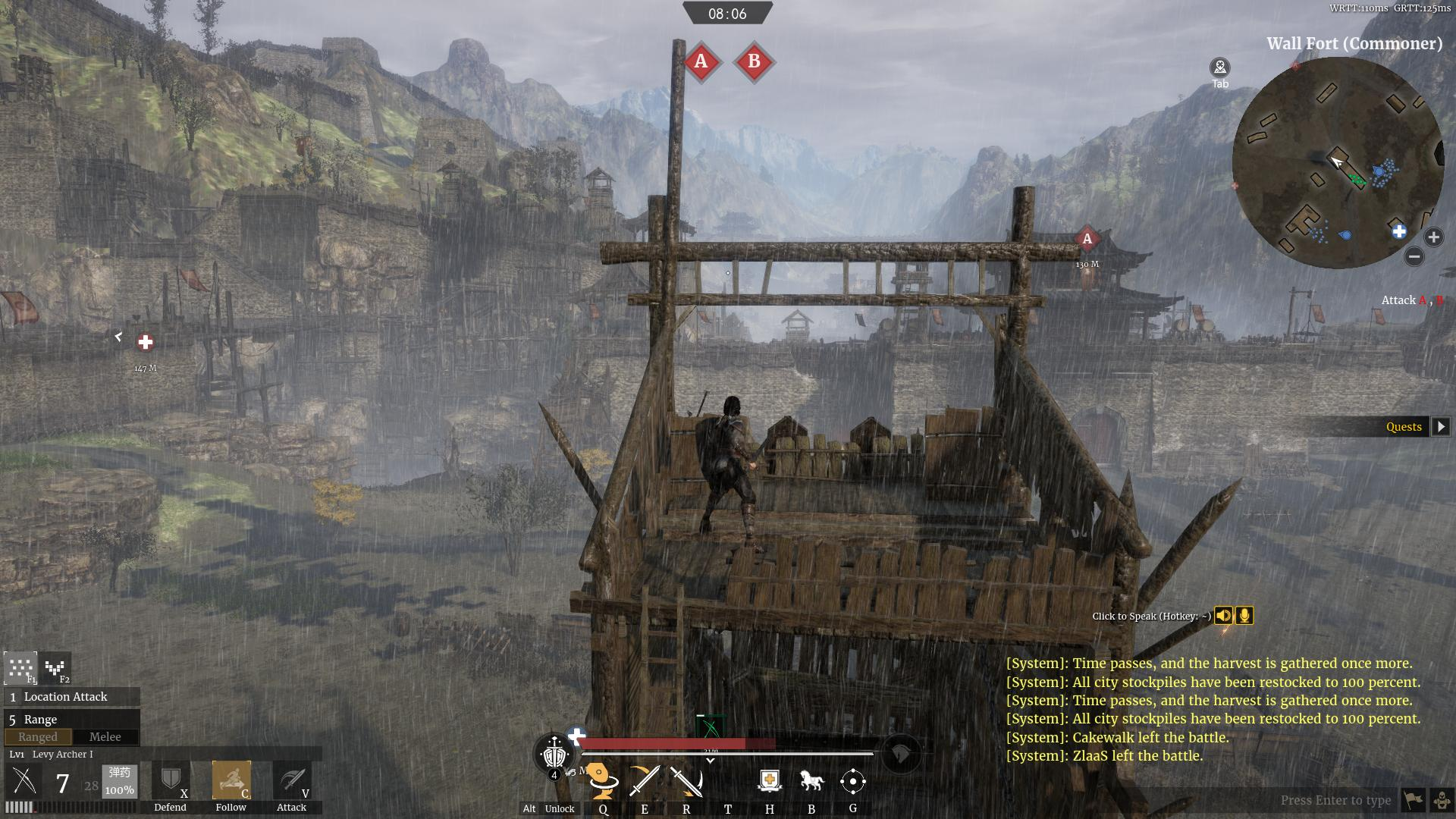 Conqueror's Blade Siege Test Hands-On Preview - Siege Tower