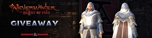 Neverwinter Free Courtier's Tapered Cloak Giveaway