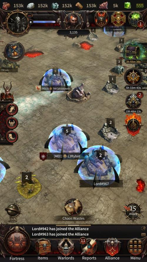 New Warhammer: Chaos & Conquest game