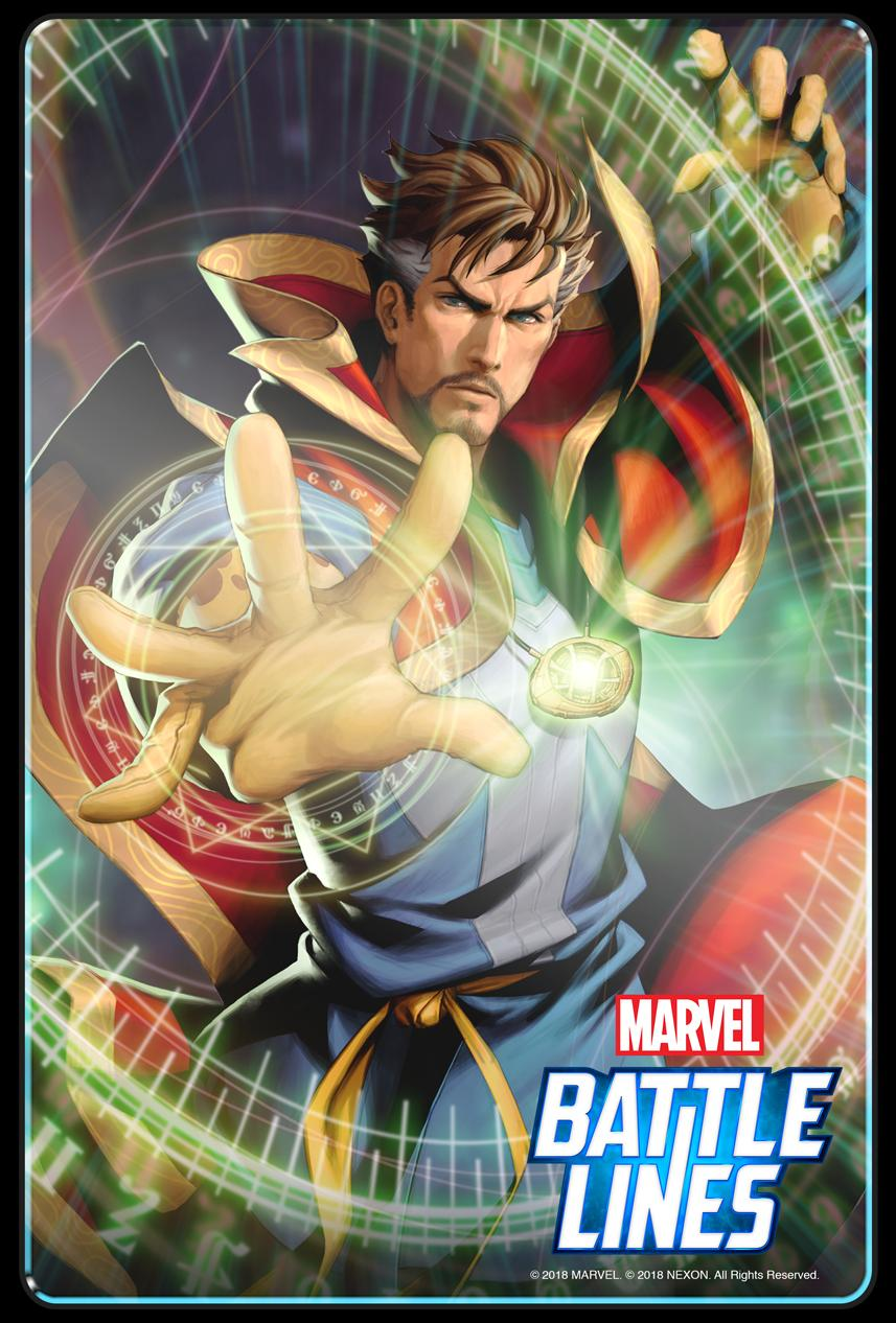 Marvel Battle Lines update Doctor Strange
