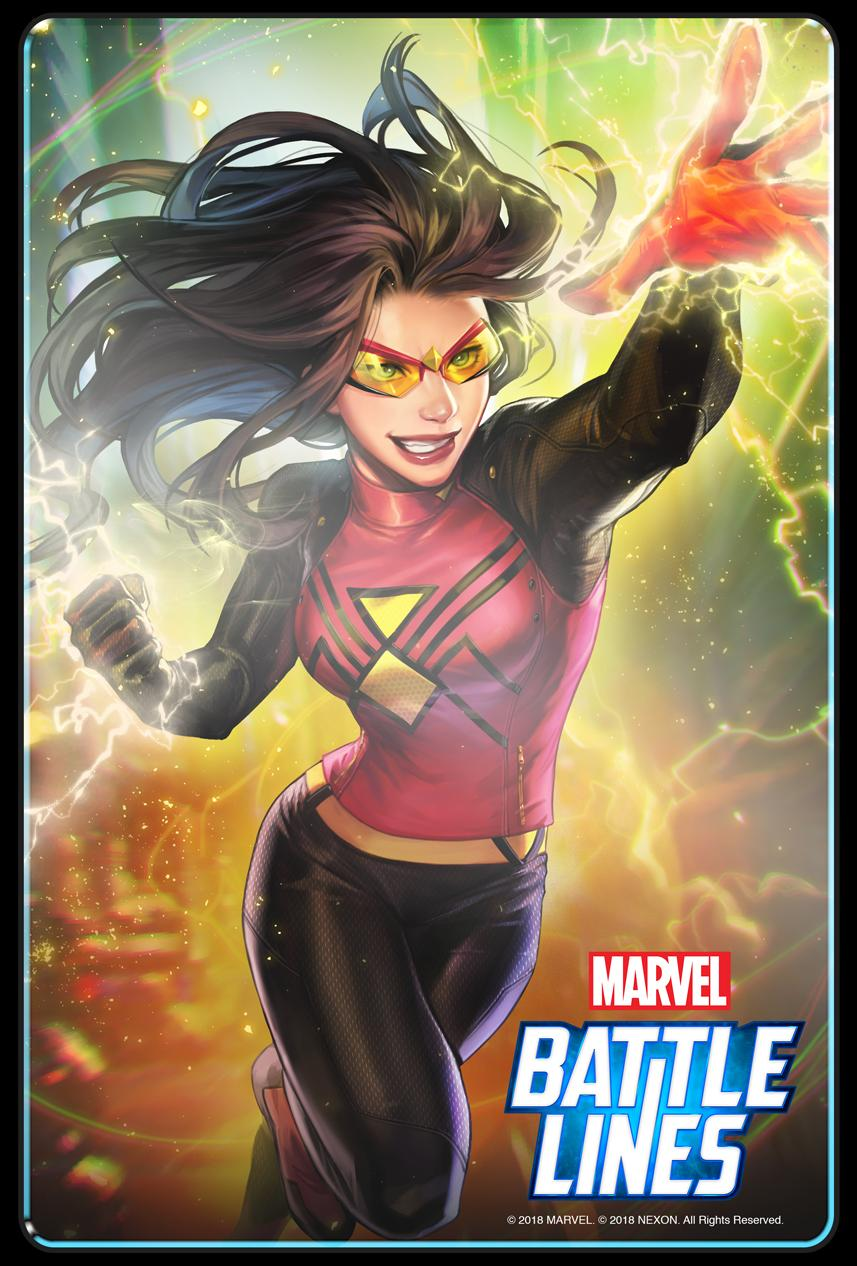 Marvel Battle Lines update Spider-Woman