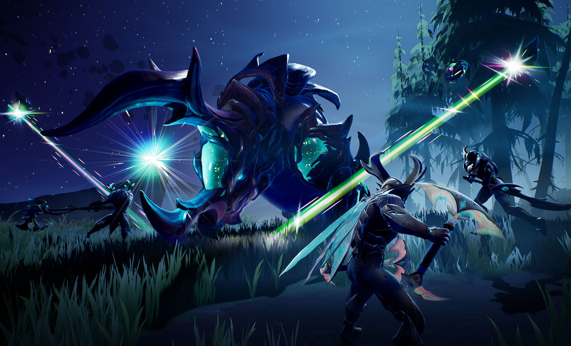 Dauntless PlayStation 4 Xbox One Switch mobile Valomyr