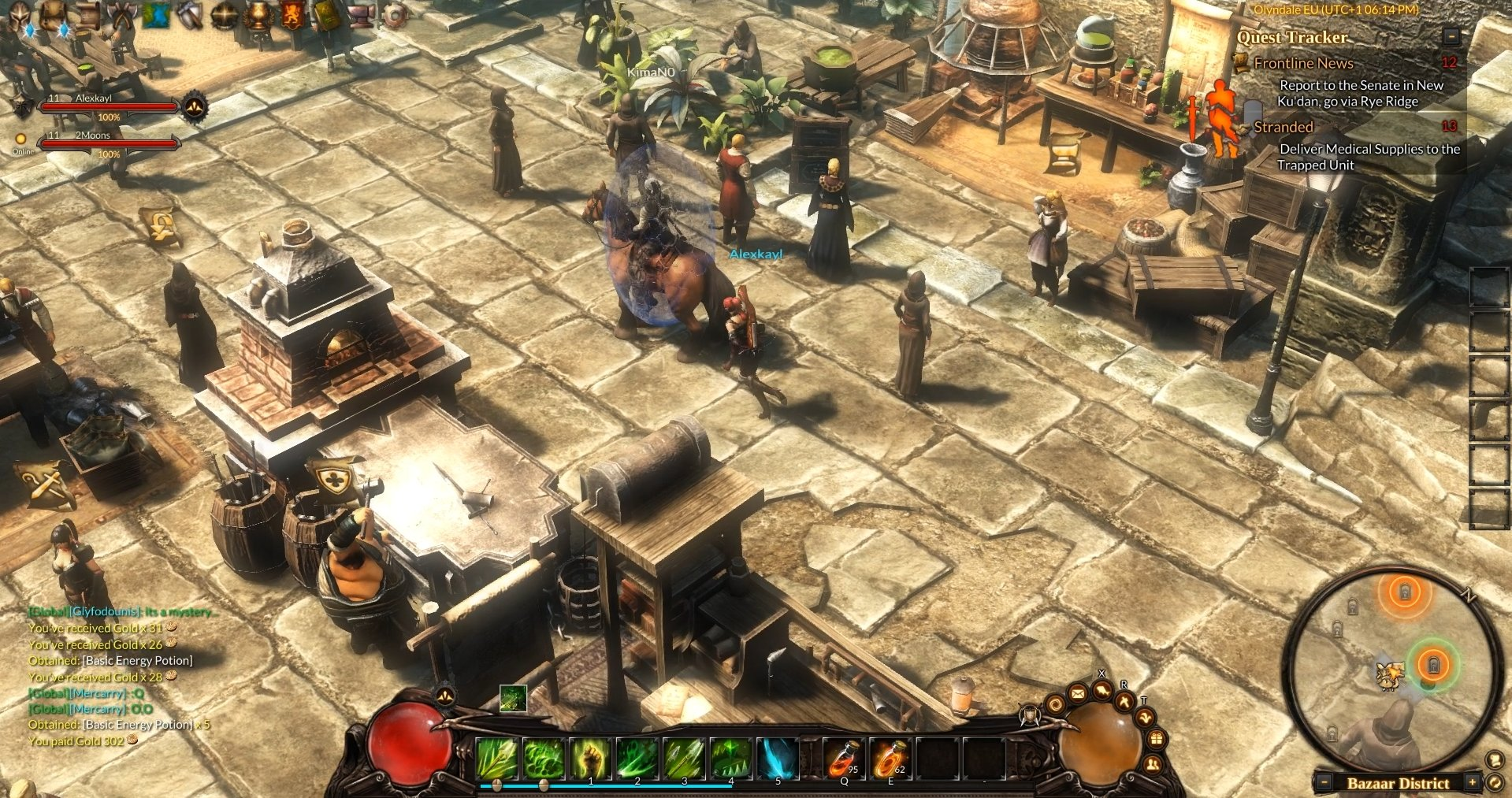 Guardians of Ember Closed Beta Preview Town