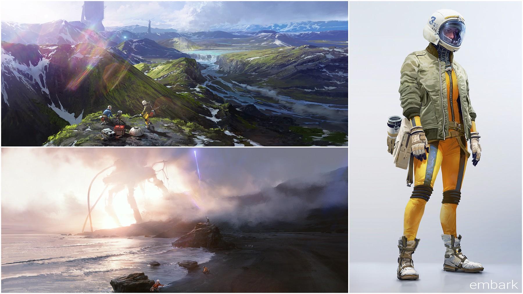 Embark Studios new game concept art