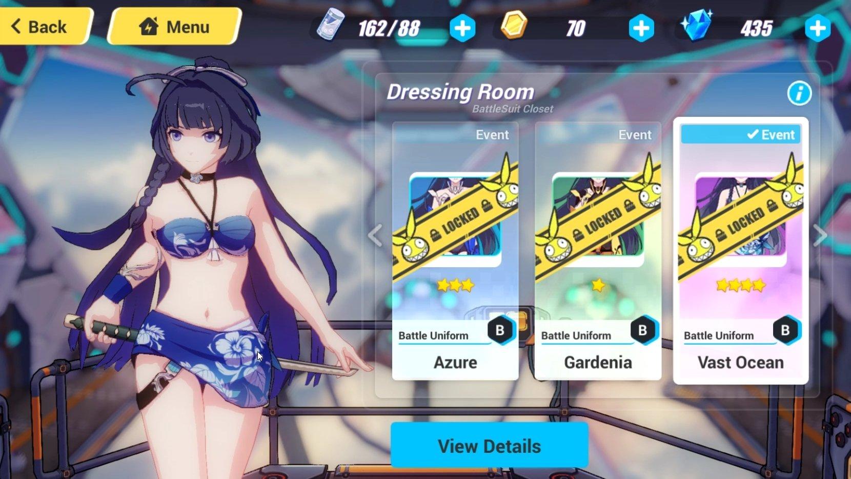 Honkai Impact 3rd bikini costume