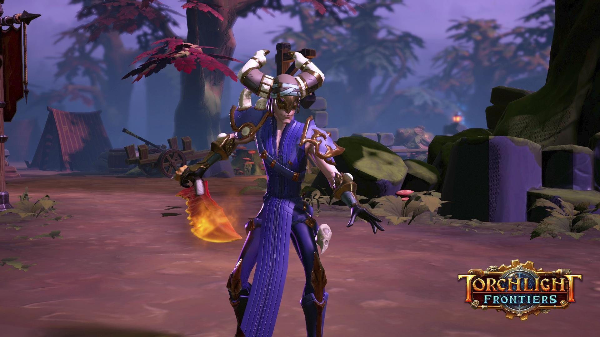 Torchlight Frontiers Interview Relic Weapons Fire Striker