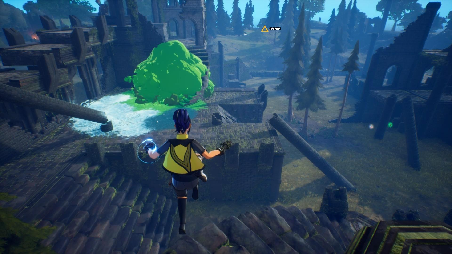 Spellbreak closed alpha preview toxic explosion