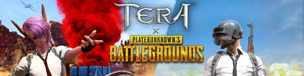 TERA x PLAYERUNKNOWN'S BATTLEGROUNDS crossover event