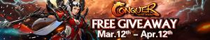 Conquer Online Free Fated Heroes Gift Pack Giveaway