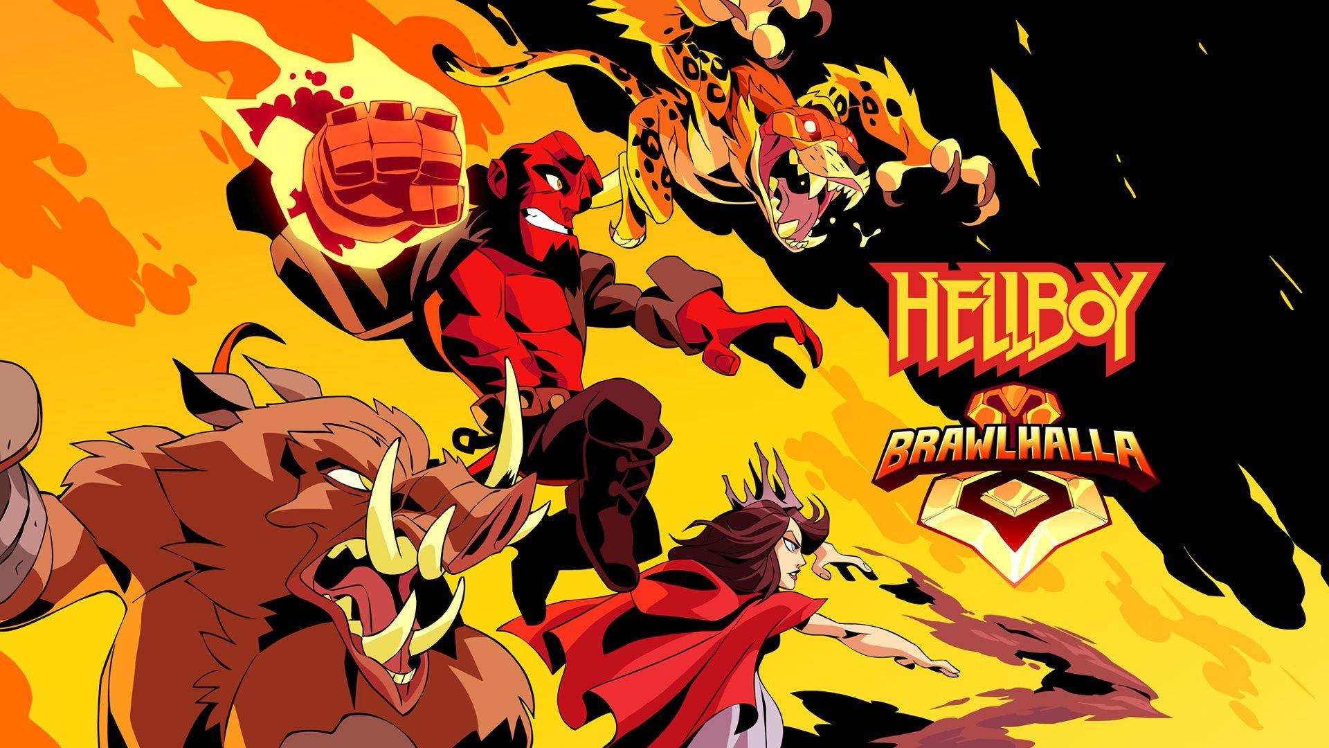 Hellboy Brawlhalla character