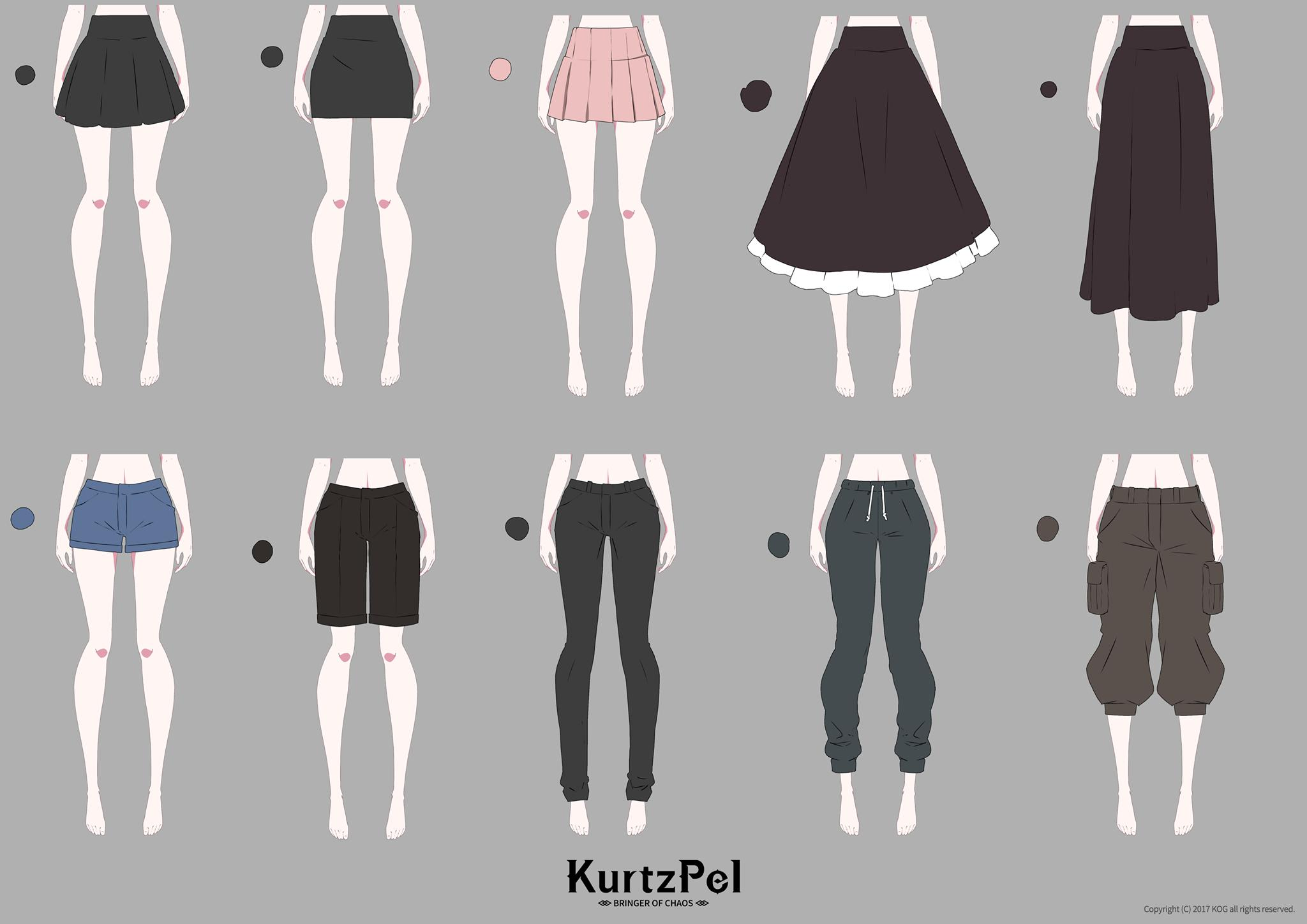 KurtzPel costumes artwork