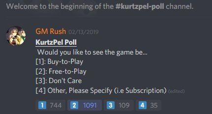KurtzPel business model poll
