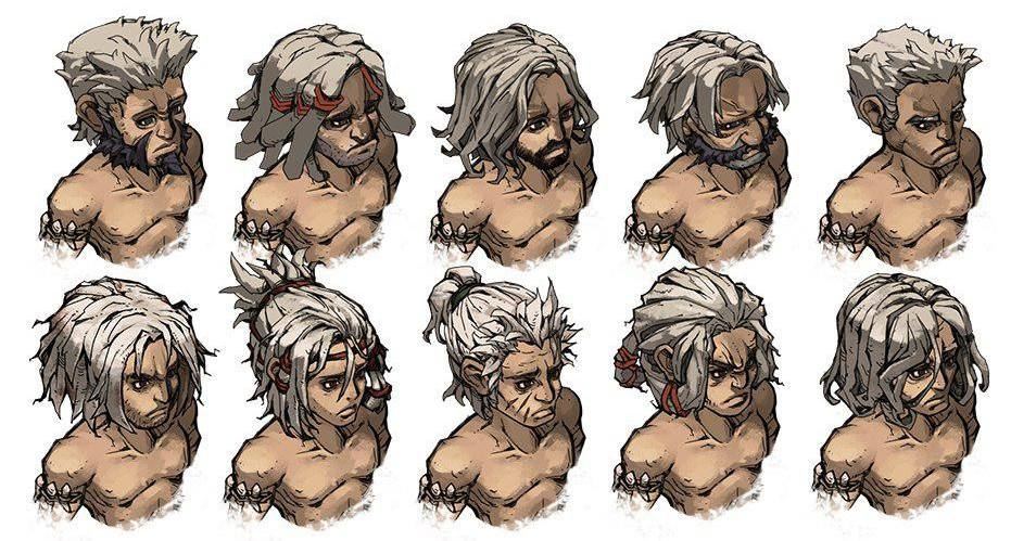 Mad World male hairstyles