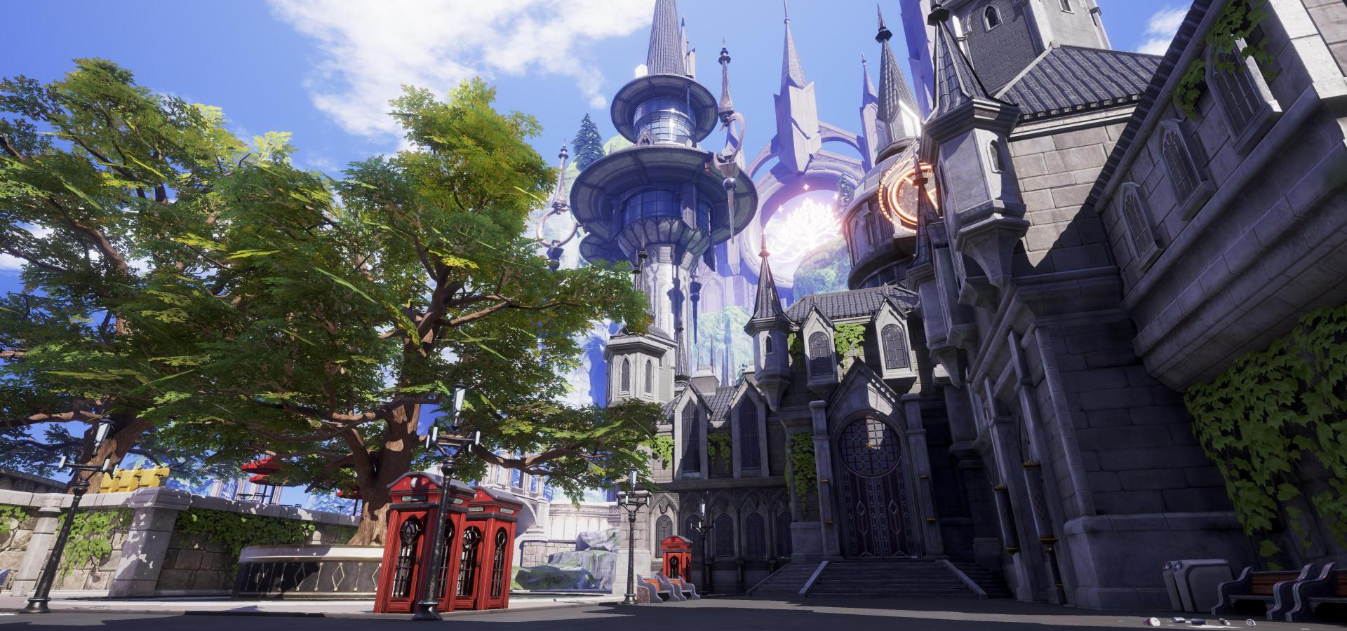 Epic Games Project SU MMO