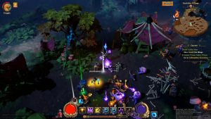Torchlight Frontiers Preview Co-op Play Nighttime