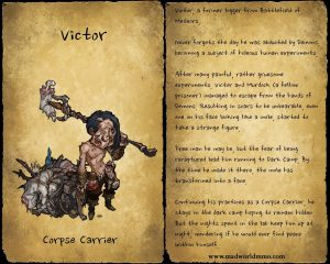 Mad World Victor Corpse Carrier