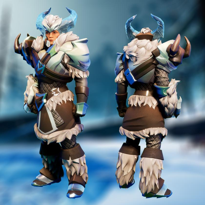 Dauntless Boreus Frost Behemoth Gear