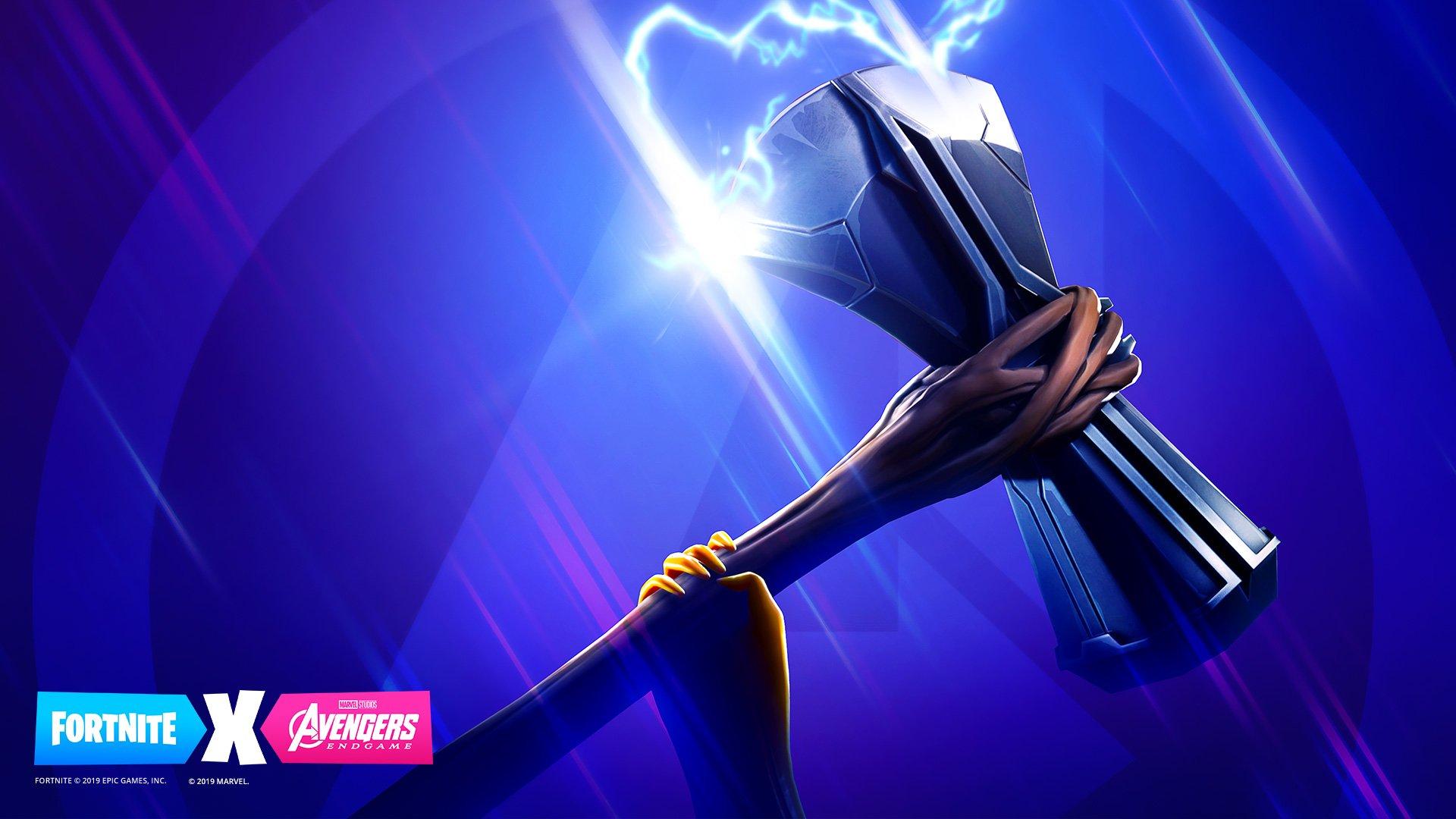 Fortnite Avengers Endgame crossover