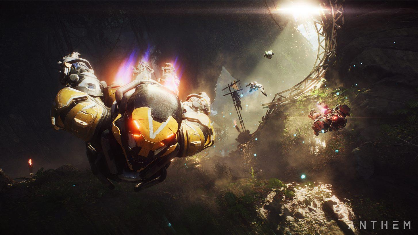 free-to-play Anthem BioWare